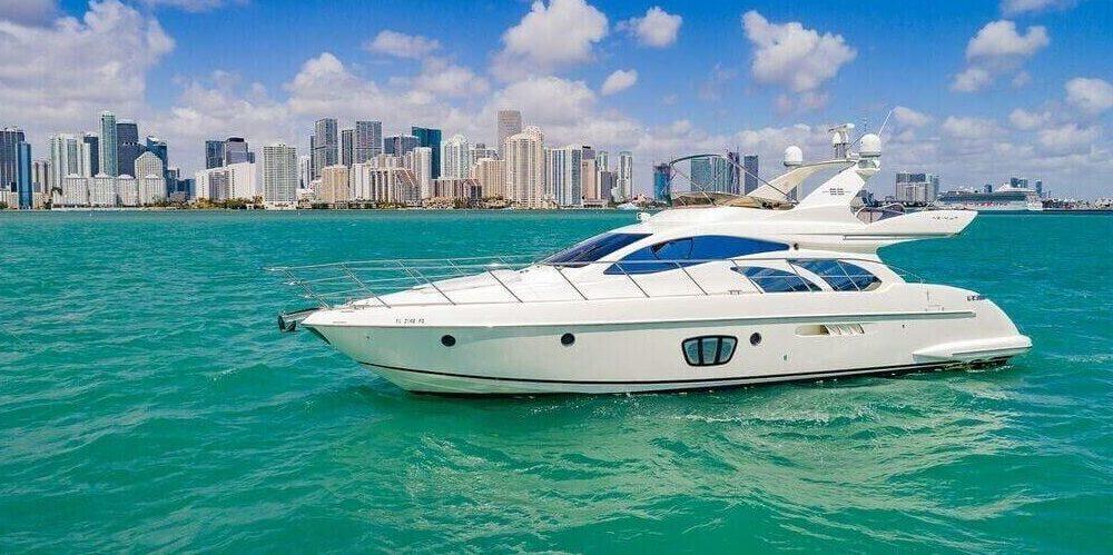 55 Azimut yacht