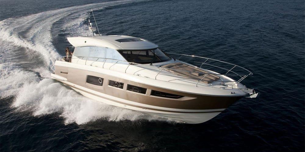 Prestige 550 Yacht Innovation Comfort and Power
