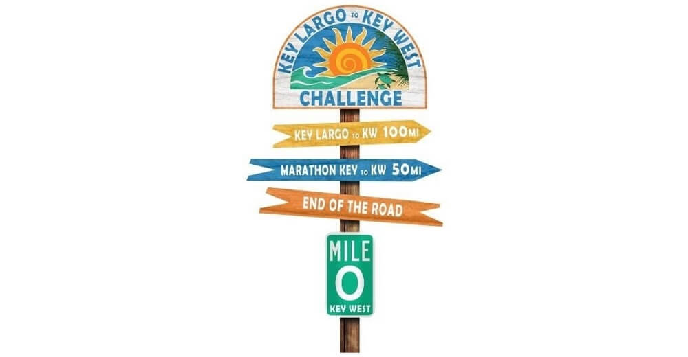 Key Largo to Key West Challenge Virtual Race