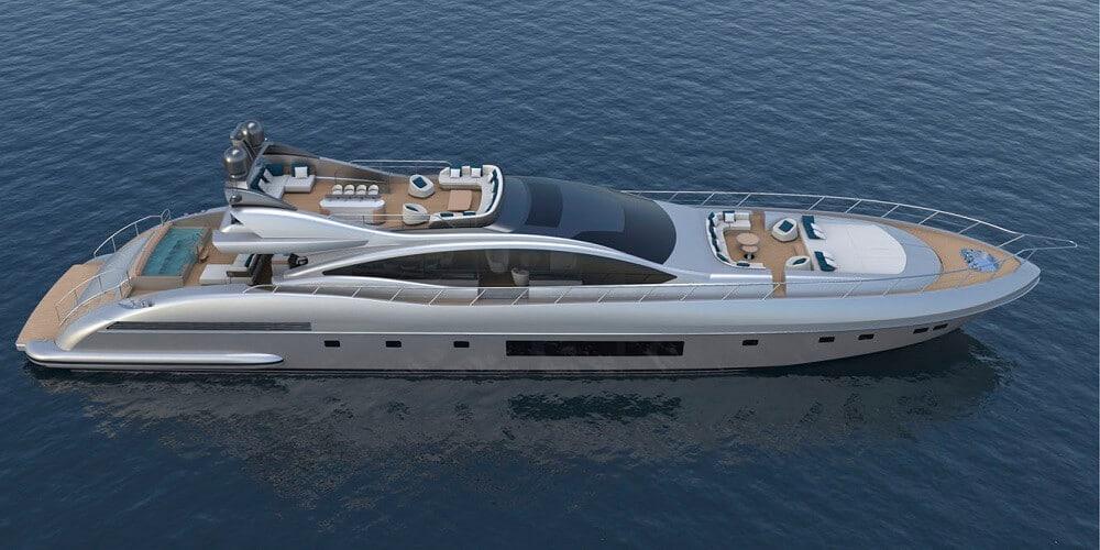 Mangusta yachts 130ft