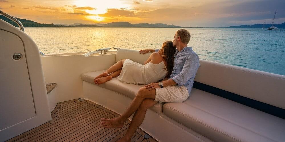 romantic boat rides in Miami