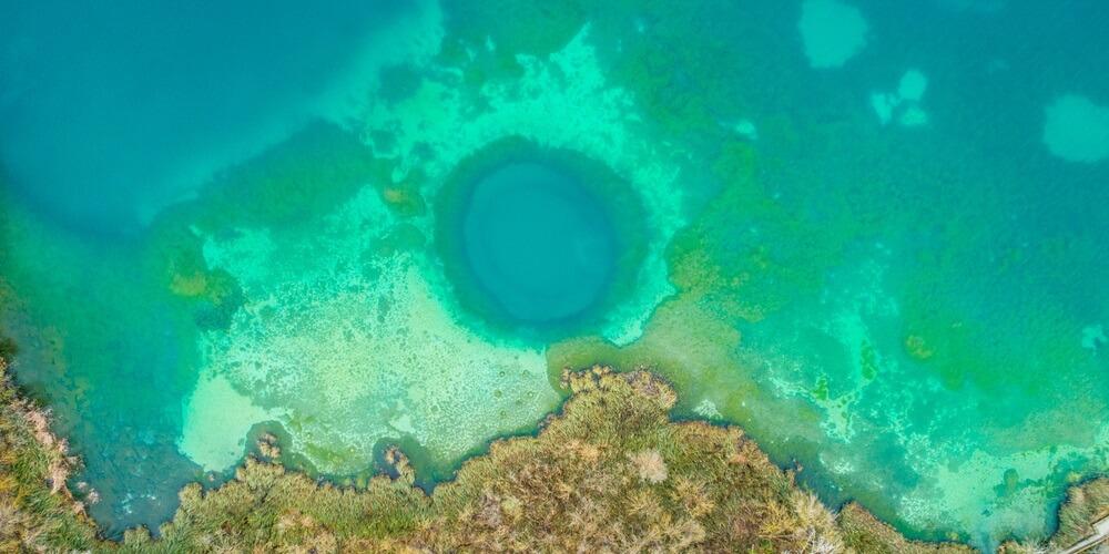 Blue Hole North Andros Bahamas