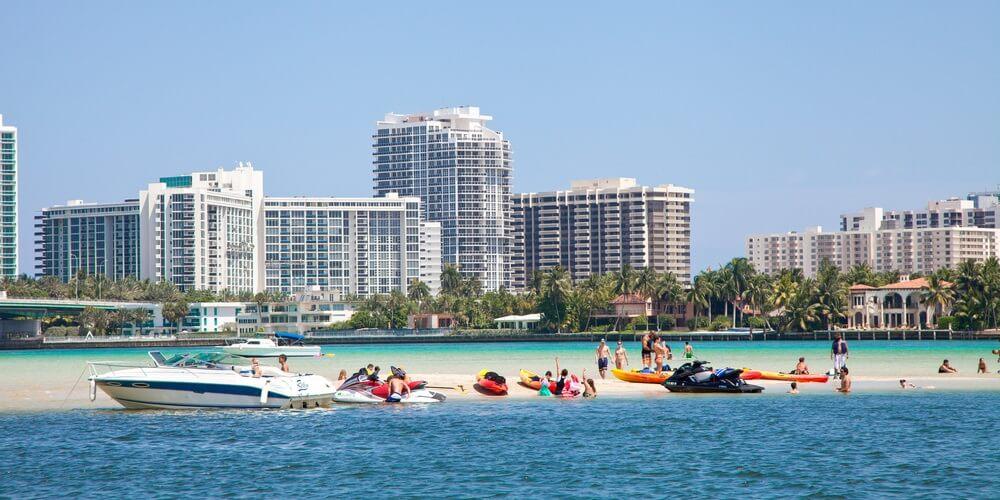 Miami water activities