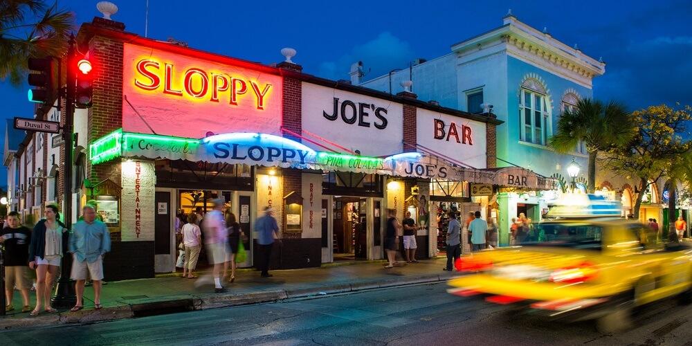 Key West bachelor party Sloppy Joes