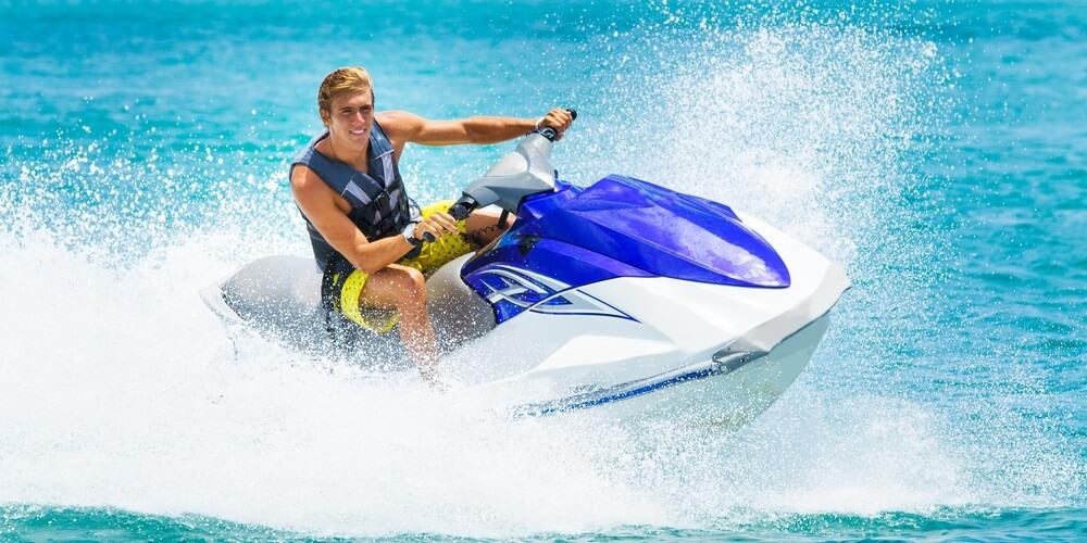 jet ski fun in Florida
